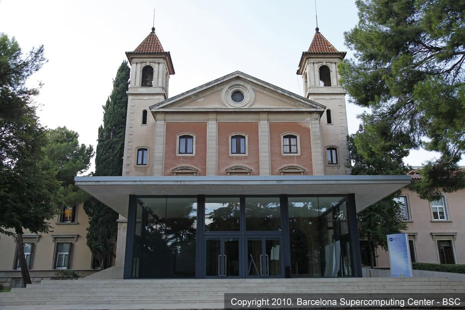 Chapel Torre Girona | BSC-CNS